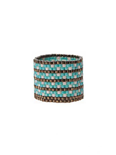 bague-tissee-jonc-large-peyote-turquoise-bronze-flora-1-kara-bijoux
