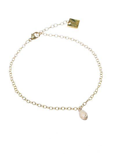 bijou-de-cheville-chaine-or-14k-cristal-miranda-kara-bijoux