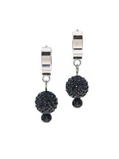 boucles-oreilles-inox-shamballa-noir-entrepreneure-glam-rock-ellie-1-kara-bijoux