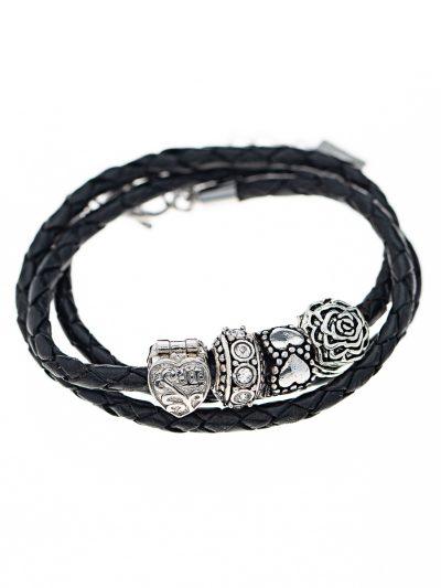 bracelet-a-torsader-3-rangs-cuir-billes-ellie-1-entrepreneure-kara-bijoux