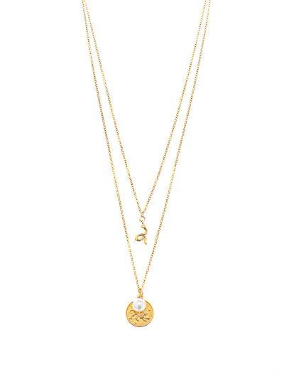collier-court-2-rangs-or-14k-serpent-perle-astrologie-classique-urbain-entrepreneure-sarah-c-5-kara-bijoux