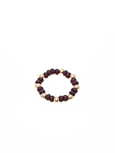 bague-elastique-fine-billes-or-14k-swarovski-bourgogne-entrepreneure-signe-kara-kara-bijoux
