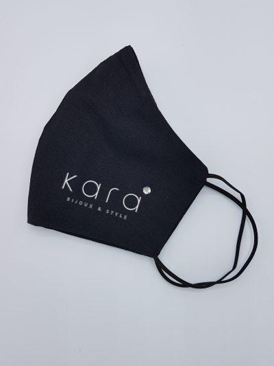 masque-coton-noir-cristal-arrondi-3-couches-pince-nez-kara-bijoux